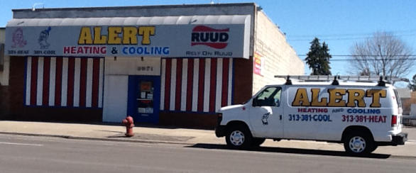 Alert Heating & Cooling in Lincoln Park MI installs & repairs Ruud Furnace & Air Conditioner